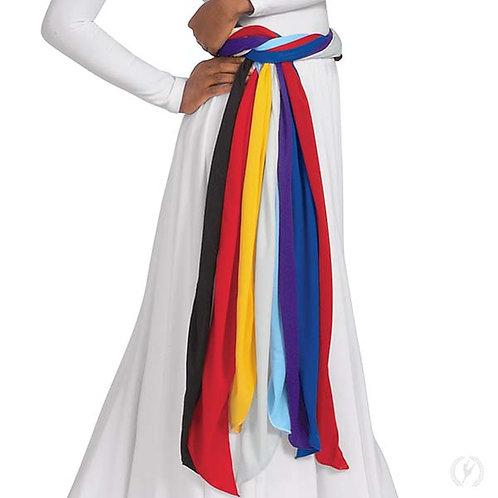 13733 - Eurotard Unisex Long Polyester Praise Dance Sash