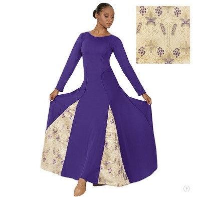 24114 - Majestic Paneled Praise Dress