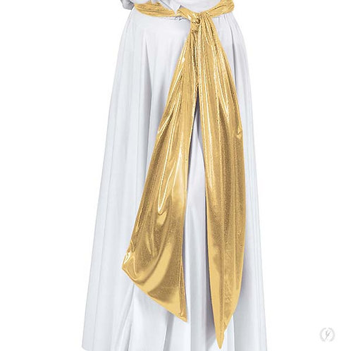 14770 - Eurotard Unisex Extra Long Metallic Praise Dance Sash