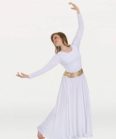 "Girs Praise Dance ""Liquid Metallic"" Versatile Sash"