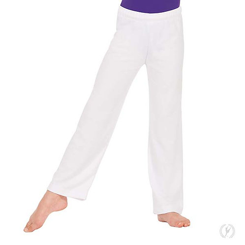 13843c - Eurotard Youth Unisex Polyester Relaxed Fit Pants with Drawstring Waist