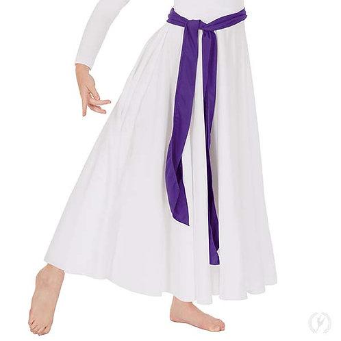 13733c - Eurotard Youth Unisex Long Polyester Praise Dance Sash