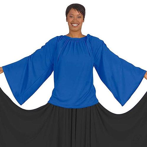 13730 - Eurotard Unisex Polyester Loose Fit Angel Sleeve Praise Top