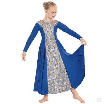 81119c - Tabernacle Long Sleeve Praise Dress