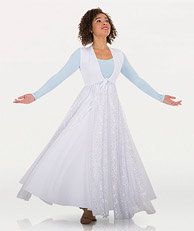 Long Tunic With A Twinkle Fly-Away Skirt