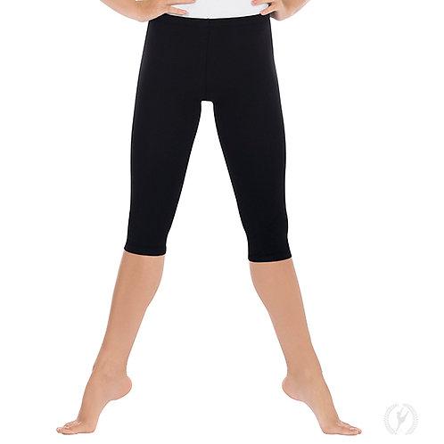 10332 - Eurotard Womens Capri Leggings with Cotton Lycra®