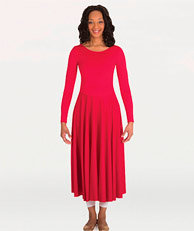 Long Sleeve Fire Dress