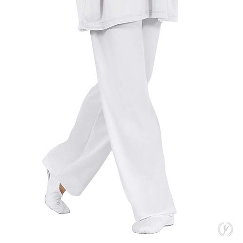13843 - Eurotard Unisex Polyester Relaxed Fit Pants with Drawstring Waist