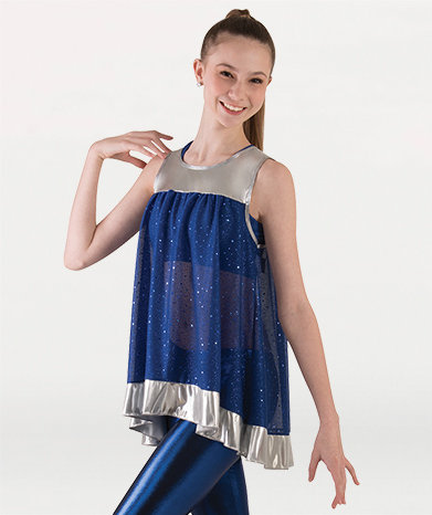 Girls Twinkle Loose-Fit Flowing Sleeveless Tunic Pullove