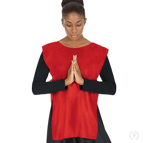 13743 - Eurotard Womens Quiet Prayer Polyester Loose Fit Praise Ephod with Side