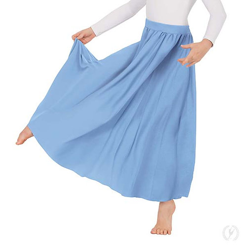 13778c - Eurotard Girls Polyester Full Length Praise Skirt