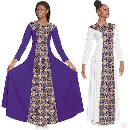 81119 - Tabernacle Long Sleeve Praise Dress