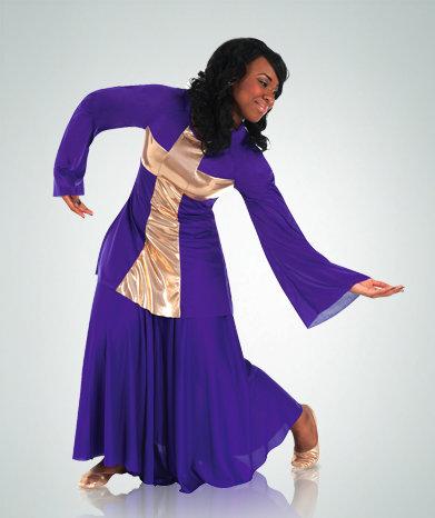 Girls Praise Cross Pullover