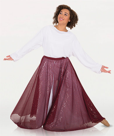 Girls Twinkle Long Flowing Convertible Skirt