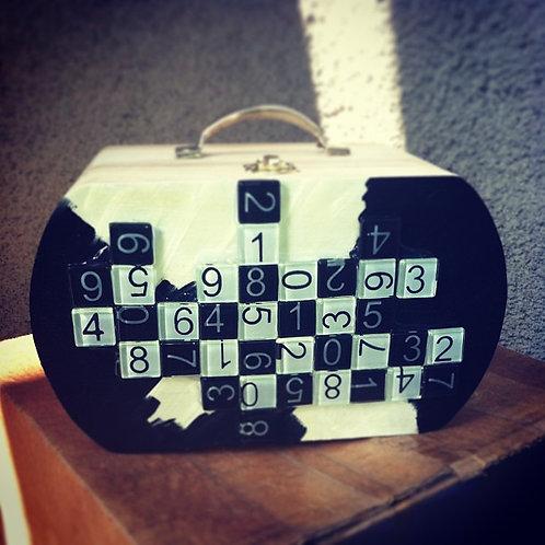"""""""Puzzle"""" Box Purse"""