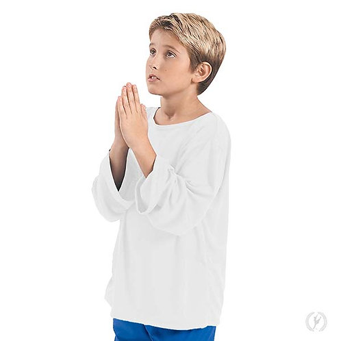 13832c - Eurotard Youth Unisex Polyester Wide Sleeve Loose Fit Praise Top