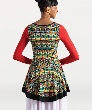 Girls Tribal Simplicity Sleeveless Pullover
