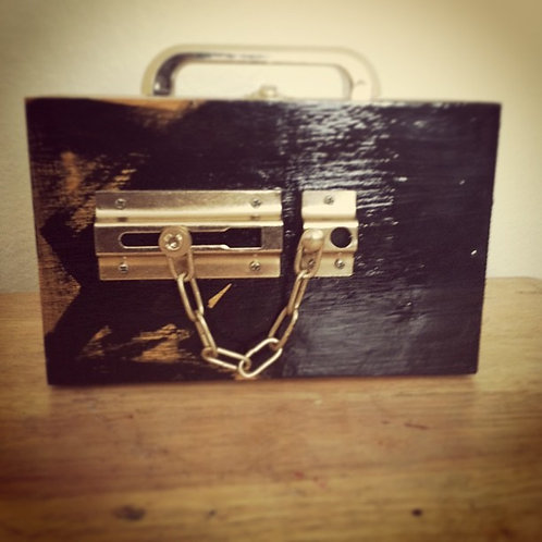 """Latch"" Box Purse"