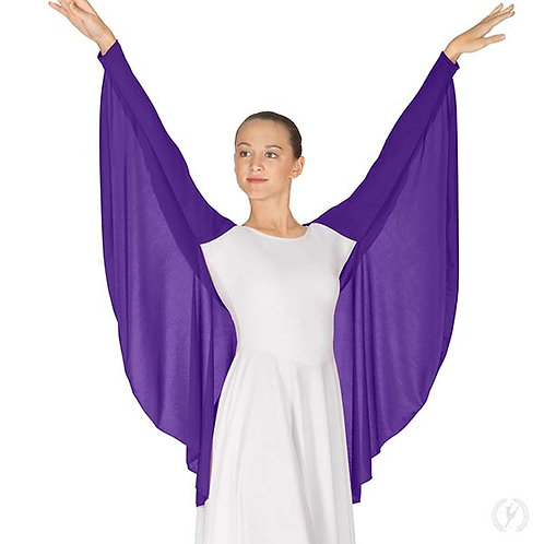 13800 - Eurotard Womens Polyester Angel Wing Praise Shrug