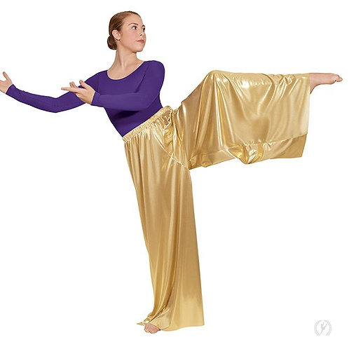 Metallic Palazzo Pants Child