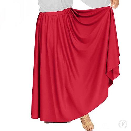 13778 - Eurotard Womens Polyester Full Length Praise Skirt