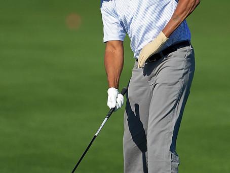 Golfing with Morgan Freeman