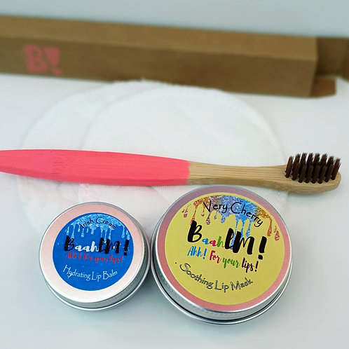 Balm, Mask & Lip Buffing Kit