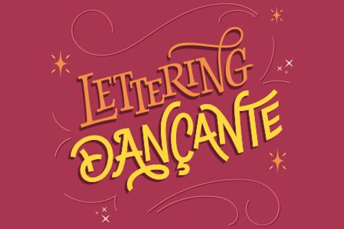 Lettering Dançante