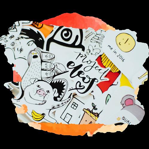 "Combo ""Se expressando nas redes sociais"" Faber Castell"