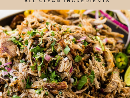 Whole30 Slow Cooker Carnitas