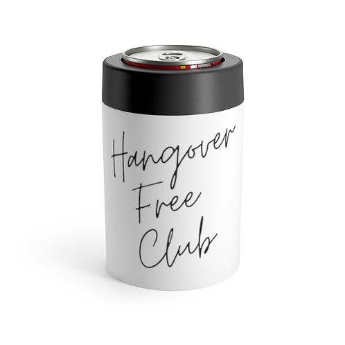 """Hangover Free Club"" Can Koozie"