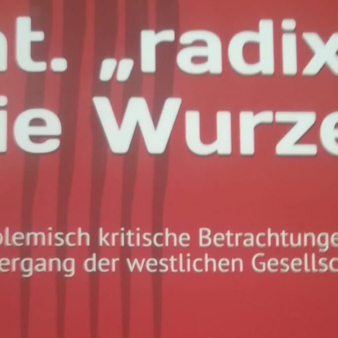 """Buchvorstellung - """"radix"""" die Wurzel"""