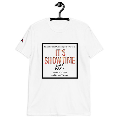 Adult Recital Tee Square- It's Showtime