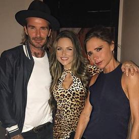 DJ'ed for David & Victoria Beckham