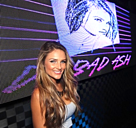 Dj Bad Ash Logo