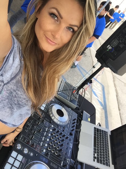 Dj Bad Ash at Kids Charity Event