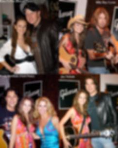 Ashlee Williss Counry Music Awards with Gary Levoux of Rascal Flatts, Billy Ray Cyrus, Martina McBride, and Joe Nichols