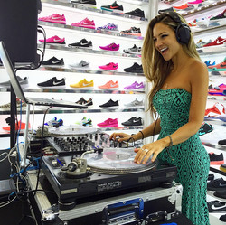 Dj Bad Ash Shoe Palace Grand Opening