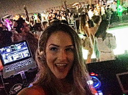DJ Bad ASH at The W Hotel Hollywood