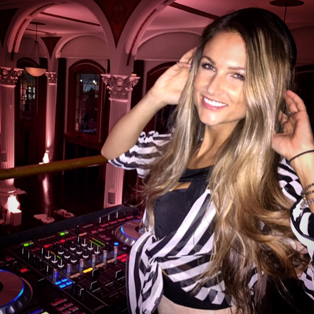 Dj Bad Ash at Vibiana Cathedral