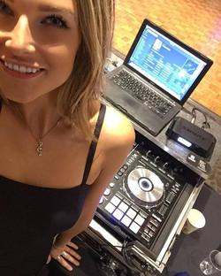 DJ Bad sh at a wedding in Malibu