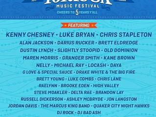 Tortuga Music Festival Lineup announced!