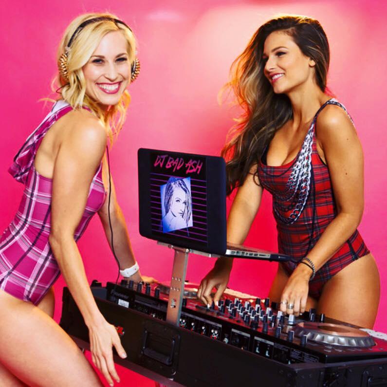 DJ Bad Ash & Sydney Benner