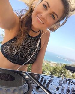 DJ Bad Ash at Goddess Retreat
