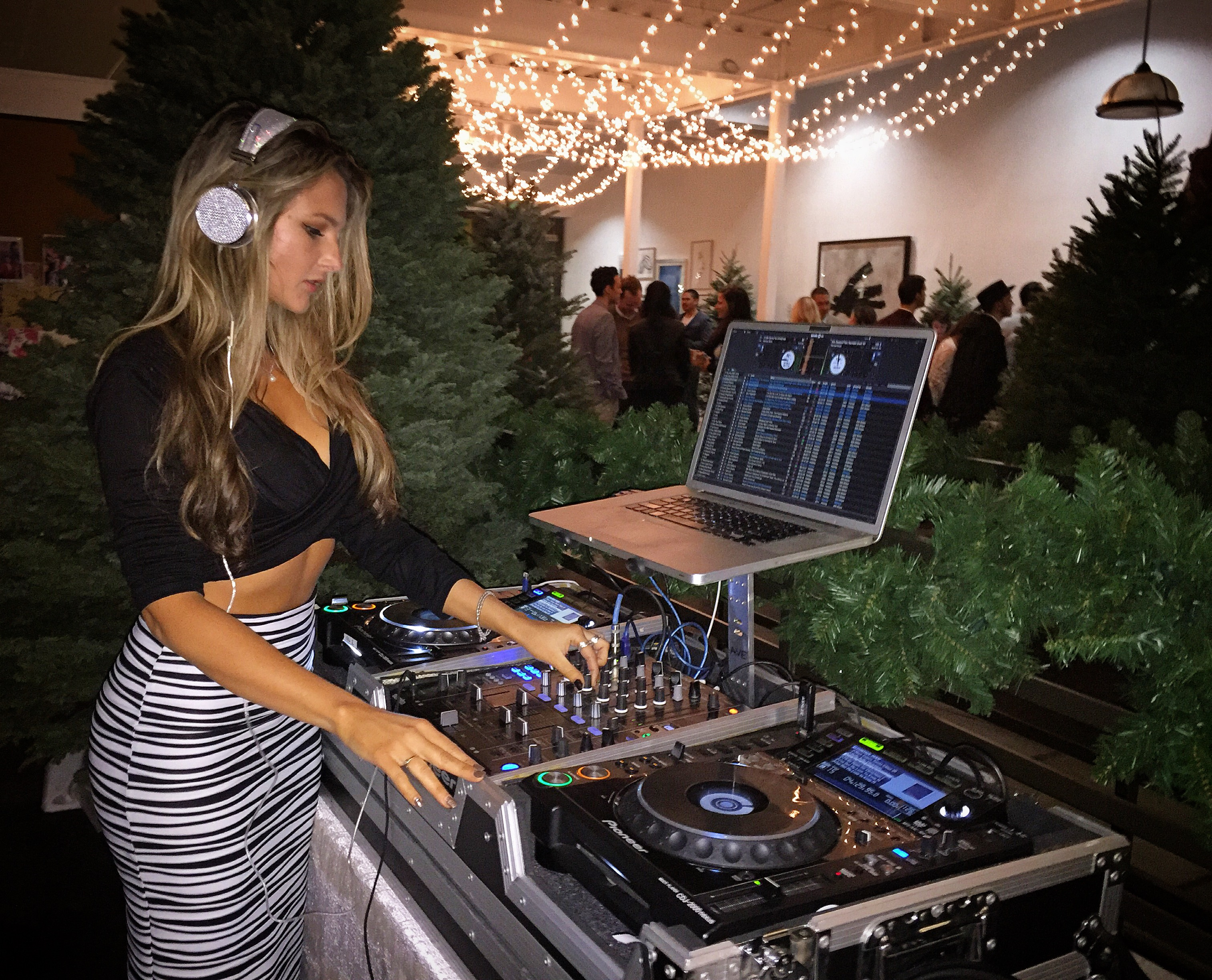 Dj Bad Ash at Holiday Party
