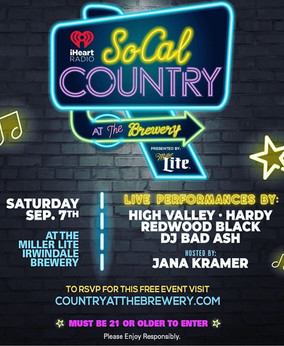 Bad Ash on iHeartRadio! Yup, iHeart has been promoting the SoCal Country show presented by Miller Li