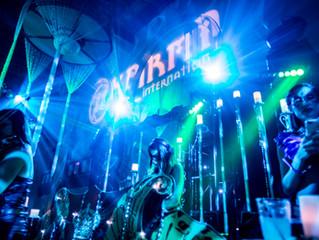 DJ Bad Ash spins The 10th Annual Karma Masquerade Ball, at The Majestic Downtown LA