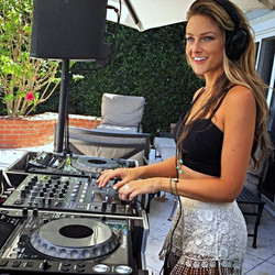 Dj Bad Ash at private Celeb party
