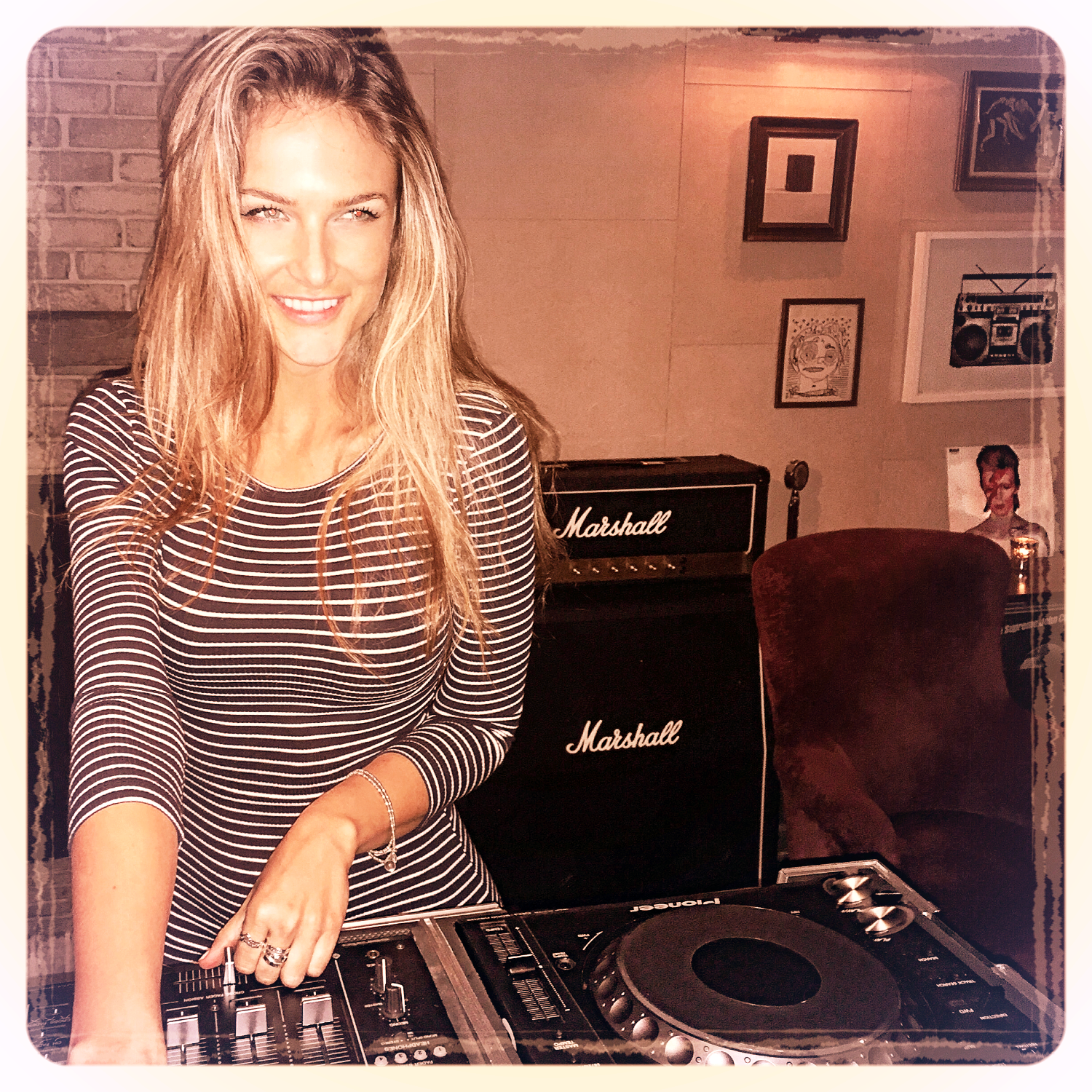 Dj Bad Ash at Soho House NYC