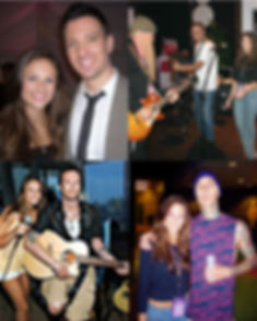 Ashlee Williss with rockstars Billy Gibbons ZZ Top, Travis Barker Blink 182, Scott Weiland Velvet Revolver and JC Chasez NSYNC